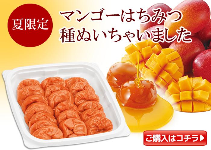 種ぬきマンゴー梅360g