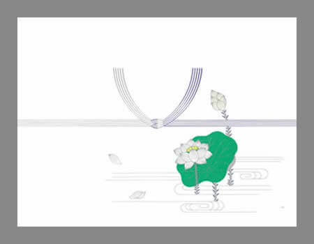 黄白結び切り(仏事用)