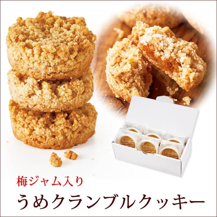 梅クランブルクッキー