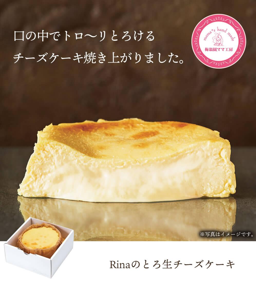とろ生チーズケーキ