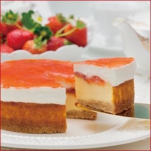 Rinaの木苺のチーズケーキ
