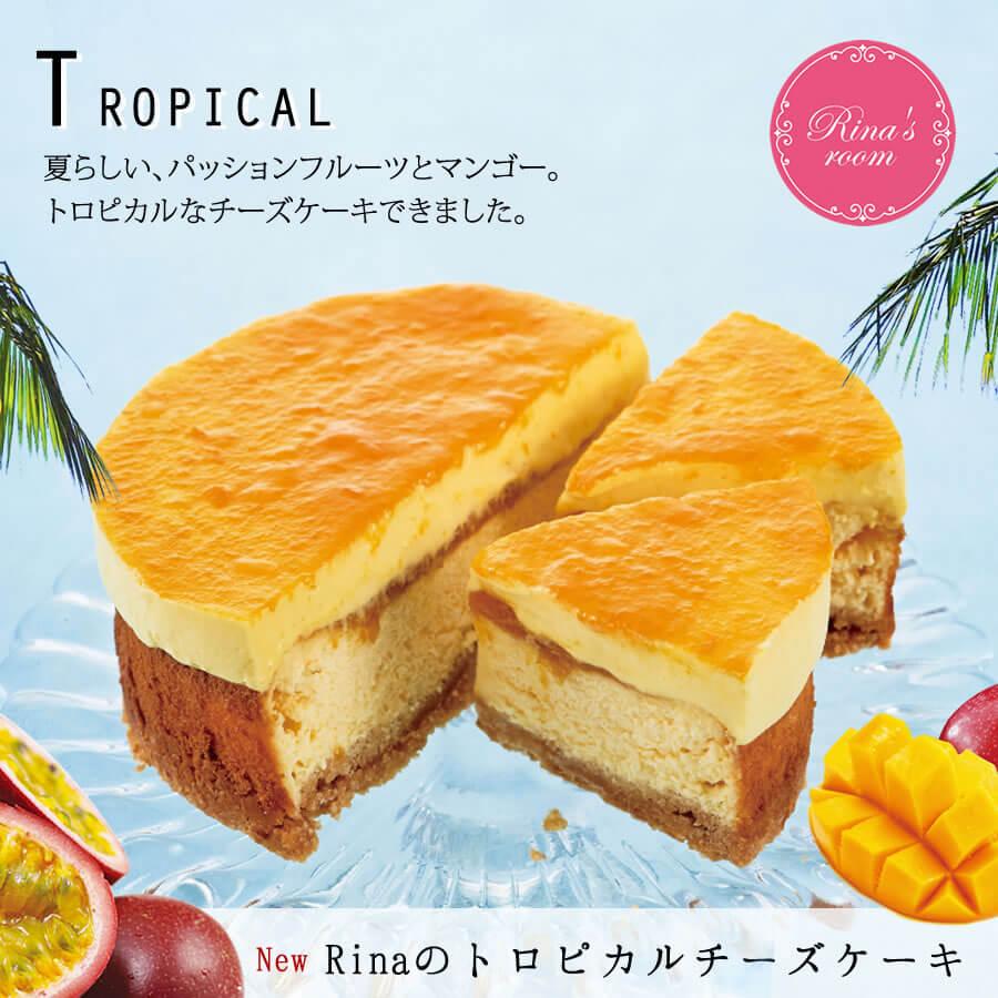 Rinaのトロピカルチーズケーキ